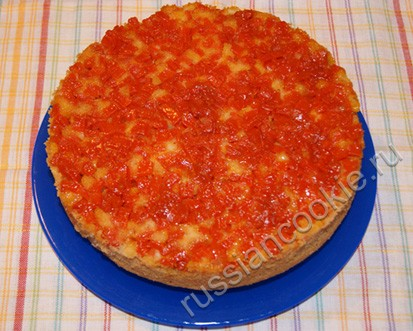 Пирог с тыквой и рисом - Кулинарные рецепты Ирины Поповой