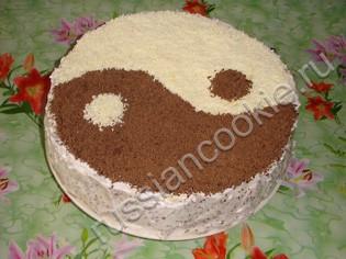 Торт бисквитно кремовый рецепт 23