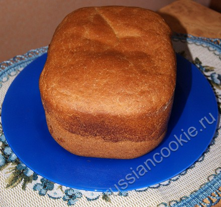 хлеб и ржаной муки, выпеченный в домашних условиях