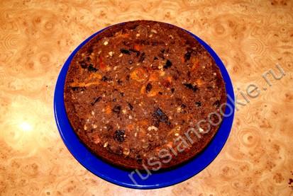 пирог с курагой и черносливом шаг 5