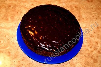 пирог с курагой и черносливом шаг 6
