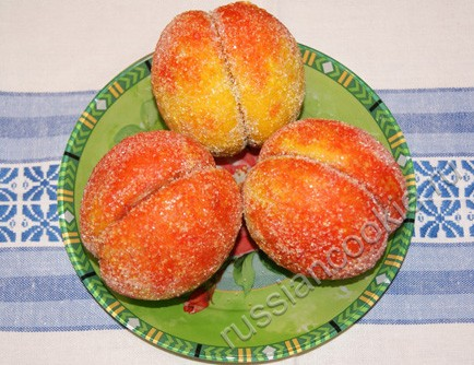 персики рецепт пирожных